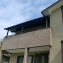 躯体式バルコニー屋根取り付けしました。