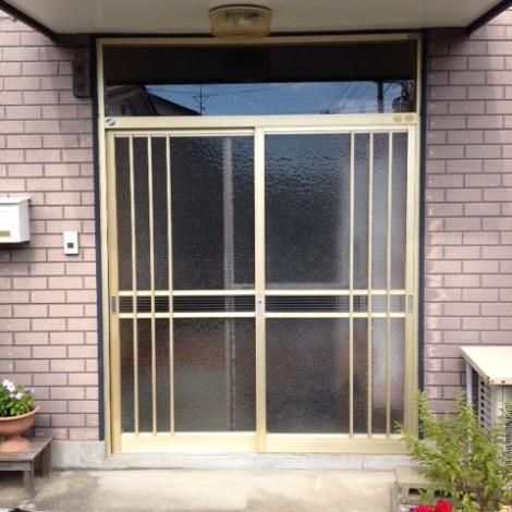 K様邸リフォ―ム引き戸前