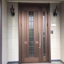 YKKapリフォーム玄関ドア施工